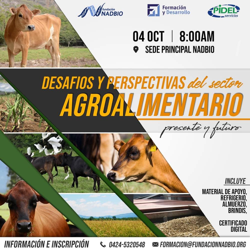 """SIMPOSIO """"DESAFÍOSY PERSPECTIVAS DEL SECTOR AGRO ALIMENTARIO"""""""